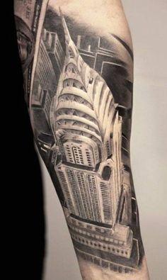 #city #tattoo #NY