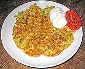 Kartoffel - Gemüse Waffeln (Rezept mit Bild) von stanze   Chefkoch.de