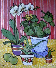 Botanical Line Drawing, Beach Artwork, Pen And Watercolor, Fruit Art, Whimsical Art, Summer Art, Art Images, Flower Art, Art For Kids