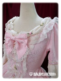 I love love love the neckline on Rosa Mistica by Baby, the Stars Shine Bright