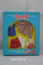 Todd ( Tutti ) fashion #7482 Grosse Ferien from 1973 NRFB