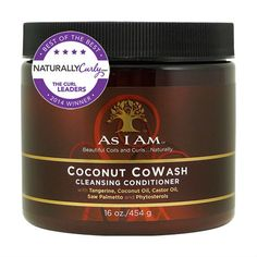 As I Am Coconut CoWash Cleansing Conditioner (16 oz.)