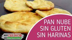 Pan nube sin harina, sin gluten, sin carbohidratos y con 3 ingredientes