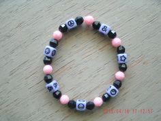 Pink & Lilac Symbolic Bracelet by CathyMarina on Etsy