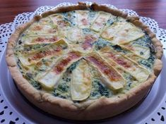 Bon Appetit, Quiche, Food And Drink, Pizza, Breakfast, Recipes, Morning Coffee, Recipies, Quiches