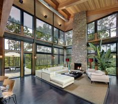 want want WANT!!! reminds me of the Cullens house in the Twilight Series! <3