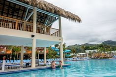 The swim-up bar at Coco Cana at Amber Cove cruise port in the Dominican Republic - See Pic Bahamas Vacation, Bahamas Cruise, Cruise Port, Cruise Travel, Caribbean Cruise, Cruise Vacation, Vacation Trips, Disney Cruise, Vacations