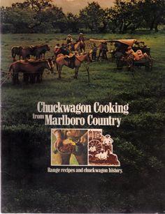 Chuckwagon Cooking from Marlboro Country: Range Recipes and Chuckwagon History by Philip Morris Inc. http://www.amazon.com/dp/B0010L1Y2Q/ref=cm_sw_r_pi_dp_QWfHwb15XV42H