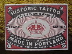Historic Tattoo