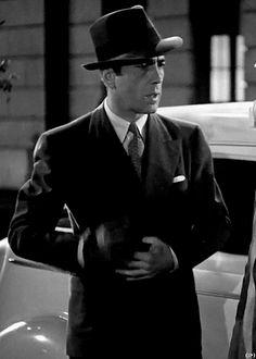 "warnerarchive: "" Humphrey Bogart in All Through The Night (1942) """