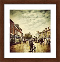 Chelmsford High St Framed Print By Fine Art By Andrew David