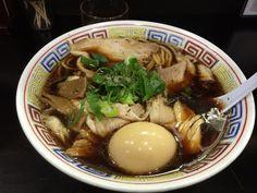 〇丈さん、中華そば大・煮卵トッピング