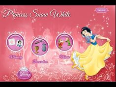 Disney Princess Snow White - Videos Games for Kids