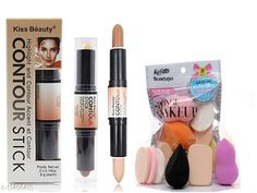 Concealer Ultimate combo of 2 IN 1 3D  Concealer & Contouring Stick with Makeup puff combo of applying Product Name: Ultimate combo of 2 IN 1 3D  Concealer & Contouring Stick with Makeup puff combo of applying Finish: Matte Country of Origin: India Sizes Available: Free Size   Catalog Rating: ★3.9 (1680)  Catalog Name: Superior Intense Concealer CatalogID_2139765 C173-SC1954 Code: 302-11406415-393