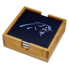 Carolina Panthers Ceramic Coaster Set, Ovrfl Oth