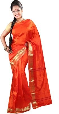 397c9ed90 Anushree Saree Self Design Fashion Chanderi Saree(Multicolor) Self Design