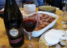 Maridaje del vino Amarone della Valpolicella Classico con un tiramisù casero