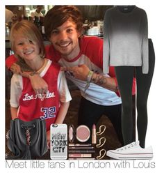 """Meet little fans in London with Louis"" by irish26-1 ❤ liked on Polyvore"