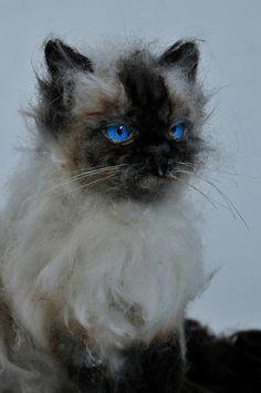 Benutzerdefinierte Cat-Porträt. Gedenkstätte Nadel von darialvovsky