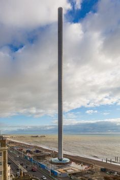 Ésta es la torre más esbelta del mundo, según Guinness World Record. Cortesía de British Airways i360