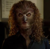 Whoa, owl lady. #Grimm