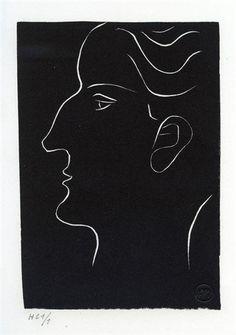 Henri Matisse - Portrait de Roger Bernard, 1946