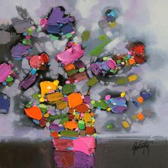contemporary still life flower painting - Google Search
