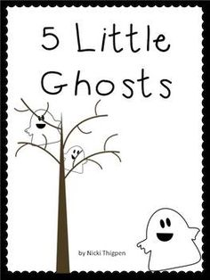 5 Little Ghosts Book (free)