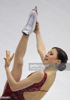 Bronze medalist Finland's Laura Lepisto poses after the podium of the Ladies' competition at the World Figure Skating Championships on March 27, 2010 at the Palavela ice-rink in Turin. Japan's Mao Asada won gold while South Korea's Yu-Na Kim took silver and Finland's Laura Lepisto got bronze. AFP PHOTO / DAMIEN MEYER (Photo credit should read DAMIEN MEYER/AFP/Getty Images)