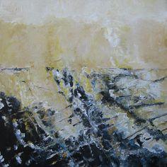 Zeeschap 110x110cm olie/doek Constantijn Molenkamp