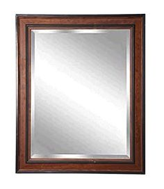 American Made Rayne Country Pine Beveled Wall Mirror, 31.5 x 35.5 ** Check out the image by visiting the link.
