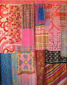 FUNK and FLASH  Handmade Gypsy CURTAINS by BabylonSisters on Etsy, $195.00
