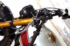 XJ 900 by Tarmac Custom Motorcycles - RocketGarage - Cafe Racer Magazine Xj Yamaha, Yamaha Cafe Racer, Cafe Racer Magazine, Tank Design, Super Bikes, Custom Motorcycles, Scrambler, Bobber, Motorbikes