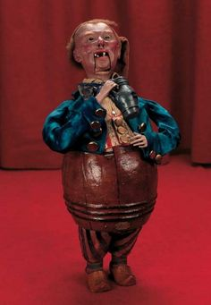 In Perfect Harmony : 21 French Paper Mache Musical Automaton