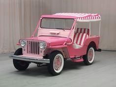 1963 Willys #Pink Jeep Surrey Gala - Hyman Ltd. Classic Cars