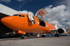 TNT Airways Boeing 737 freighter in new livery