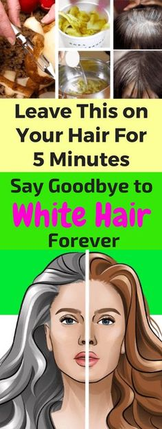 Leave This on Your Hair For 5 Minutes and Say Goodbye to White Hair Forever – leanhealthfitness