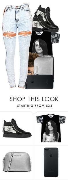 """""""Onna internet twitter beef🖕🏾 nxgga tweet this🚨"""" by jayzhee ❤ liked on Polyvore featuring Giuseppe Zanotti and MICHAEL Michael Kors"""