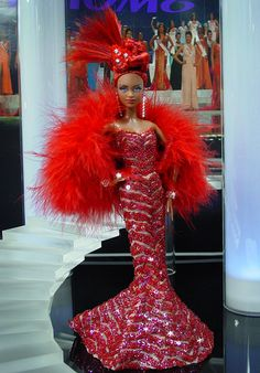 OOAK Barbie NiniMomo's Miss Atlanta 2011