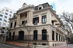 Palacetes de Madrid: PALACIO DE LOS MARQUESES DE BORGHETTO- C/ Miguel Ángel, 25.  Ignacio Aldama, 1919.  Actual sede de la Delegación del Gobierno