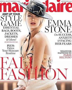 Emma Stone for Marie Claire US September 2017 | Art8amby's Blog