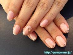 Simple nail star  シンプルな星のネイル