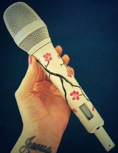 katy perry and her sparkly microphones |