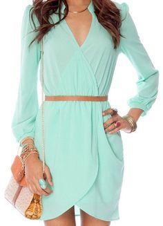Mint dress (tobi.com)