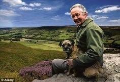 The real James Herriot: Author Alf Wight - who used a pen name - based the character on his own experiences as a country vet, but he was plagued by depression and feelings of inadequacy