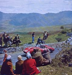 Fon de Portago, Ferrari 335S, Mille Miglia 1957 (Yves Debraine)...