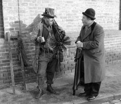 Victorian Chimney Sweep Wearing His Old Clothes & Carrying His ...