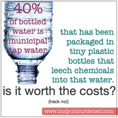 Is bottled water worth the cost?