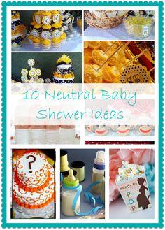 10 Neutral Baby shower ideas