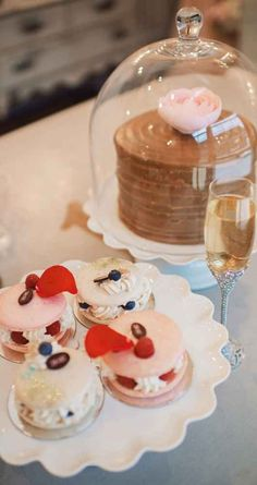 Cake Bake Shop wedding desserts and macarons - A Marie Antoinette-Inspired Style Shoot  | WeddingDay Magazine